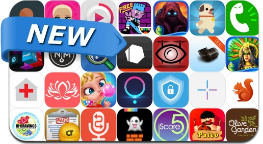 Newly Released iPhone & iPad Apps - March 31, 2016