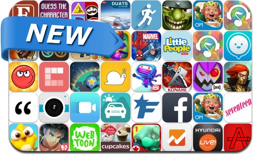 Newly Released iPhone & iPad Apps - July 18, 2014