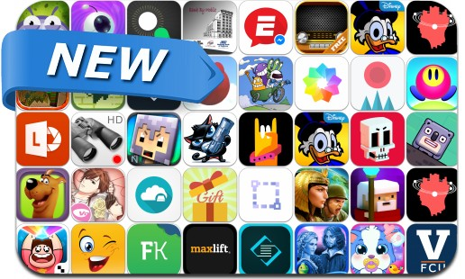 Newly Released iPhone & iPad Apps - April 3, 2015