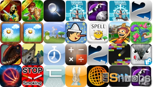 iPhone and iPad Apps Gone Free - March 27 Roundup