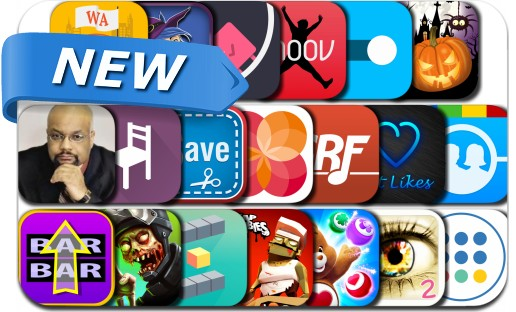 Newly Released iPhone & iPad Apps - October 31, 2015