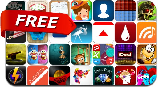iPhone & iPad Apps Gone Free - October 16, 2014