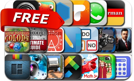 iPhone & iPad Apps Gone Free - March 18