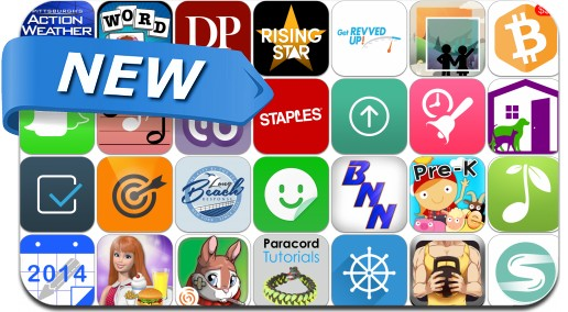 Newly Released iPhone & iPad Apps - June 11, 2014