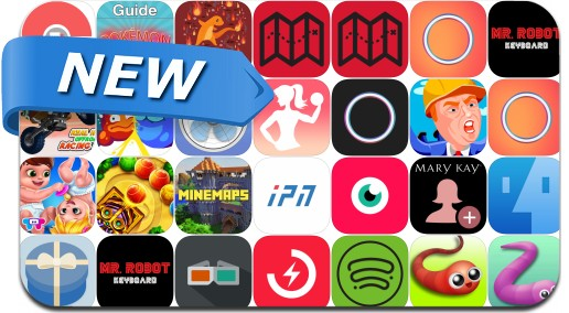 Newly Released iPhone & iPad Apps - July 14, 2016