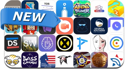 Newly Released iPhone & iPad Apps - August 13, 2018