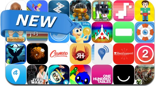 Newly Released iPhone & iPad Apps - June 19, 2015