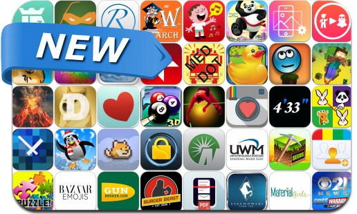 Newly Released iPhone & iPad Apps - February 16, 2014