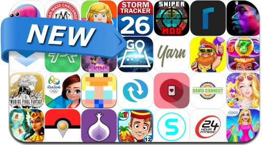 Newly Released iPhone & iPad Apps - August 4, 2016