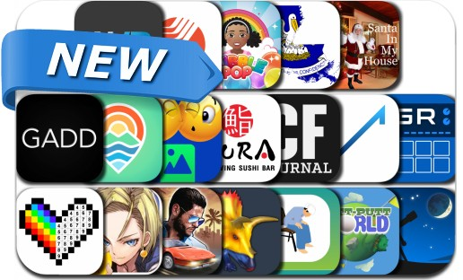 Newly Released iPhone & iPad Apps - December 25, 2017