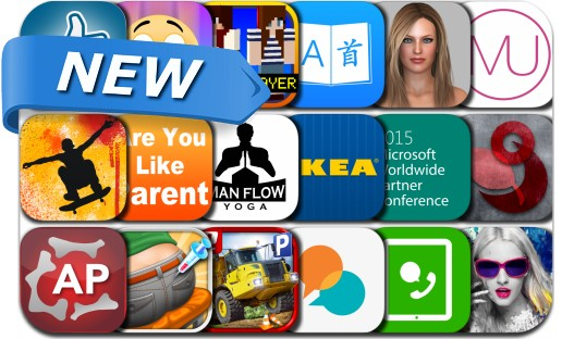 Newly Released iPhone & iPad Apps - July 13, 2015