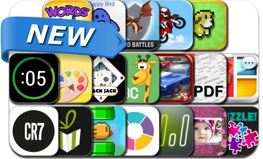 Newly Released iPhone & iPad Apps - March 3, 2014