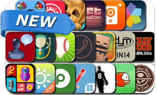 Newly Released iPhone & iPad Apps - April 17, 2014