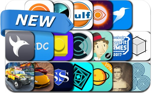 Newly Released iPhone & iPad Apps - July 24, 2017