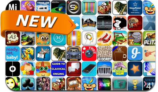 Newly Released iPhone & iPad Apps - March 22