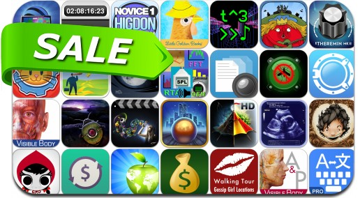 iPhone & iPad App Price Drops - November 30, 2014