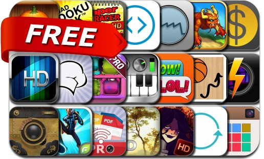 iPhone & iPad Apps Gone Free - October 21