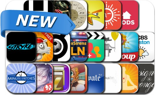 Newly Released iPhone & iPad Apps - June 21, 2014
