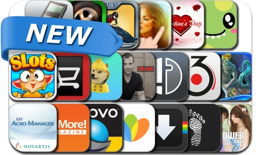 Newly Released iPhone & iPad Apps - February 4, 2014