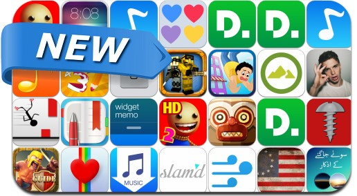 Newly Released iPhone & iPad Apps - August 3, 2014