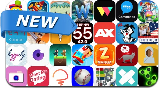 Newly Released iPhone & iPad Apps - July 2, 2017