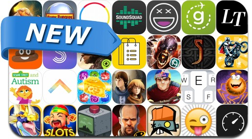 Newly Released iPhone & iPad Apps - October 23, 2015