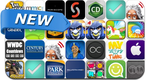 Newly Released iPhone & iPad Apps - June 4