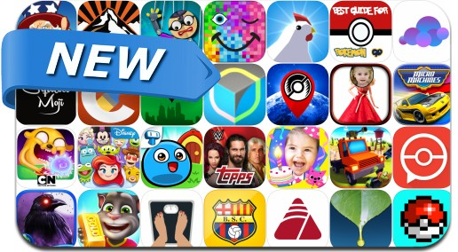 Newly Released iPhone & iPad Apps - July 15, 2016