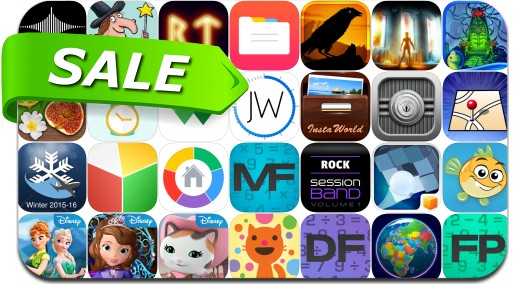 iPhone & iPad App Price Drops - February 20, 2016