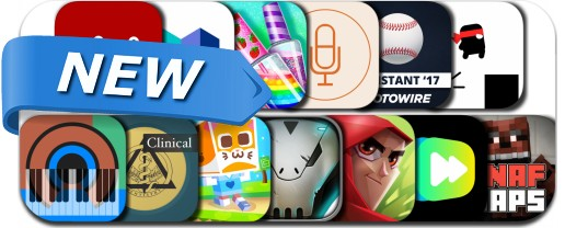 Newly Released iPhone & iPad Apps - March 9, 2017