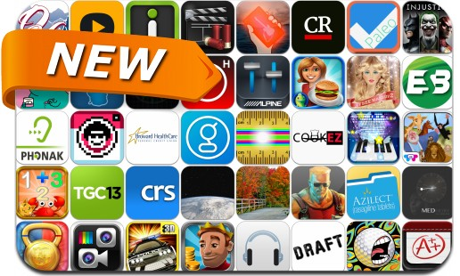 Newly Released iPhone & iPad Apps - April 4