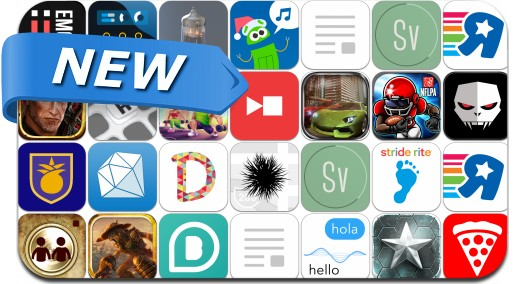 Newly Released iPhone & iPad Apps - November 28, 2014