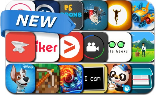 Newly Released iPhone & iPad Apps - January 20, 2017