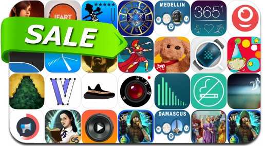 iPhone & iPad App Price Drops - October 9, 2017