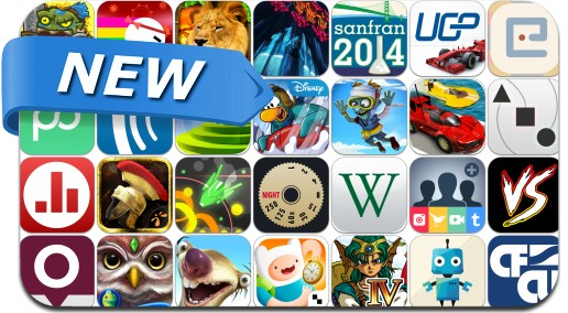 Newly Released iPhone & iPad Apps - August 8, 2014