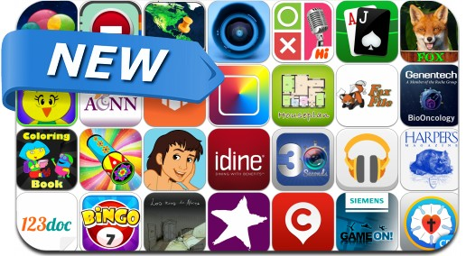 Newly Released iPhone & iPad Apps - November 16