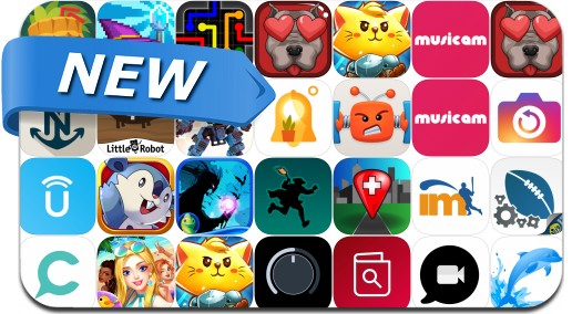 Newly Released iPhone & iPad Apps - August 11, 2017
