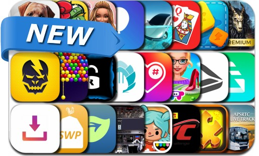Newly Released iPhone & iPad Apps - March 23, 2018