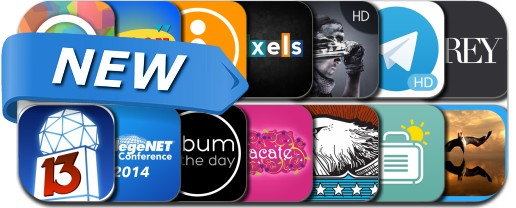 Newly Released iPhone & iPad Apps - July 22, 2014