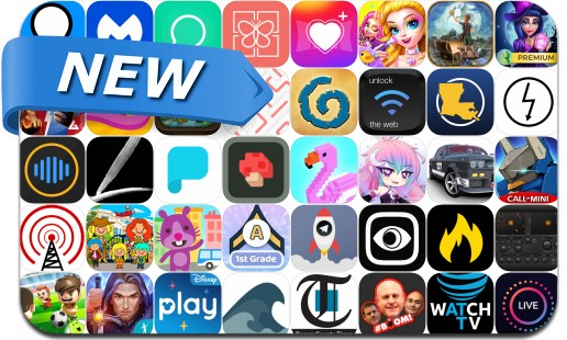 Newly Released iPhone & iPad Apps - June 30, 2018