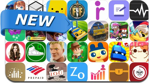 Newly Released iPhone & iPad Apps - March 17, 2018