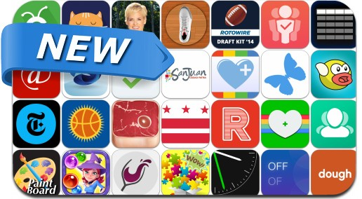 Newly Released iPhone & iPad Apps - June 5, 2014