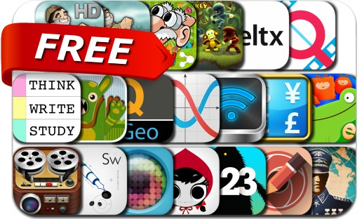iPhone & iPad Apps Gone Free - August 14, 2015