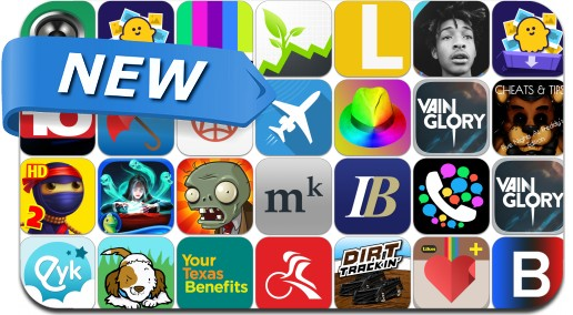 Newly Released iPhone & iPad Apps - November 18, 2014