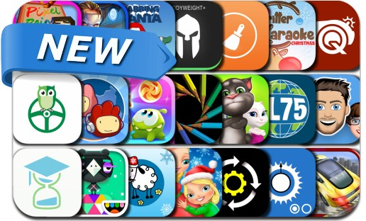 Newly Released iPhone & iPad Apps - December 17, 2015