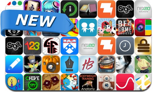 Newly Released iPhone & iPad Apps - October 30