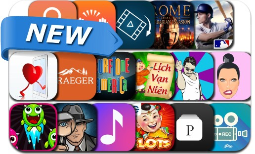 Newly Released iPhone & iPad Apps - March 29, 2017