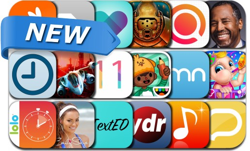 Newly Released iPhone & iPad Apps - October 29, 2015