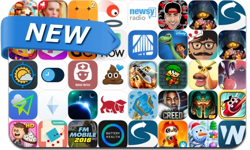 Newly Released iPhone & iPad Apps - November 20, 2015