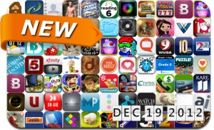 Newly Released iPhone and iPad Apps - December 19
